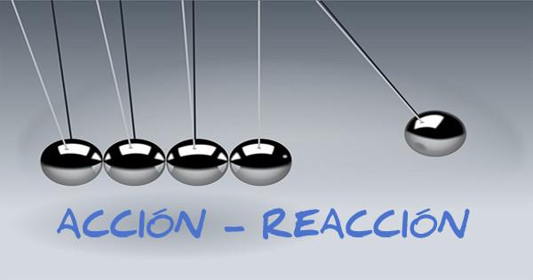 acción-reacción